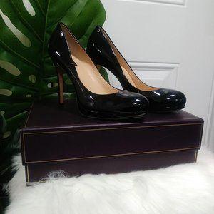 Anne Taylor Patent Leather Stiletto Pumps 9